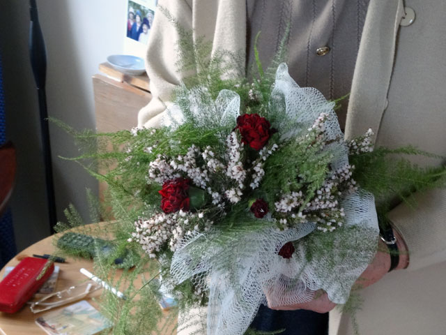 wedding flower bouquets winter